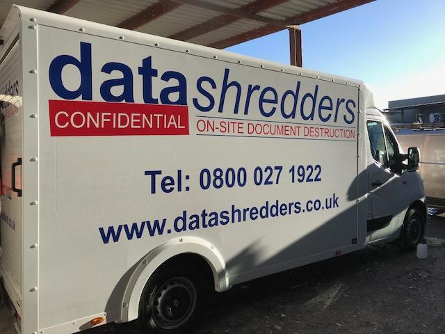 Data Shredders Van